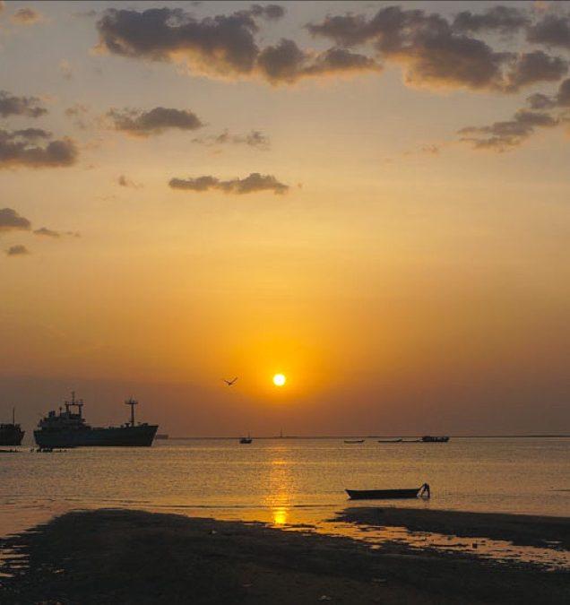 Wrecked Ships At Berbera Port In Somaliland