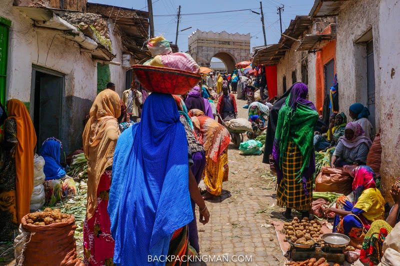 The Exotic Old City Of Harar In Ethiopia