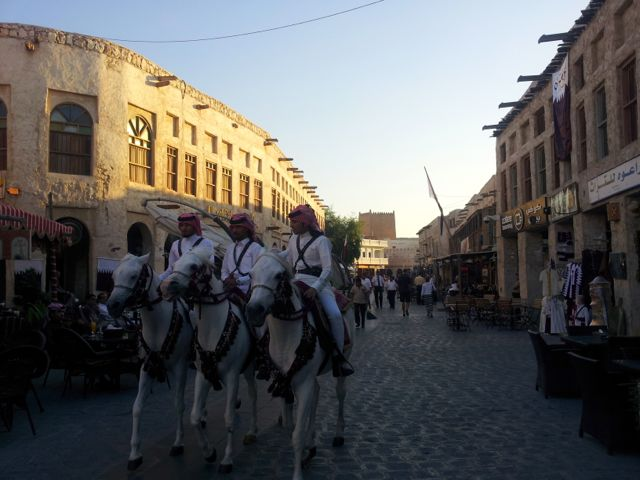 Old city in Doha