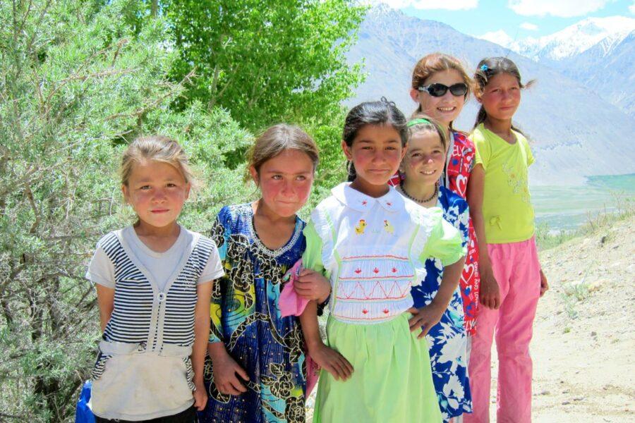 Children in Wakhan Valley