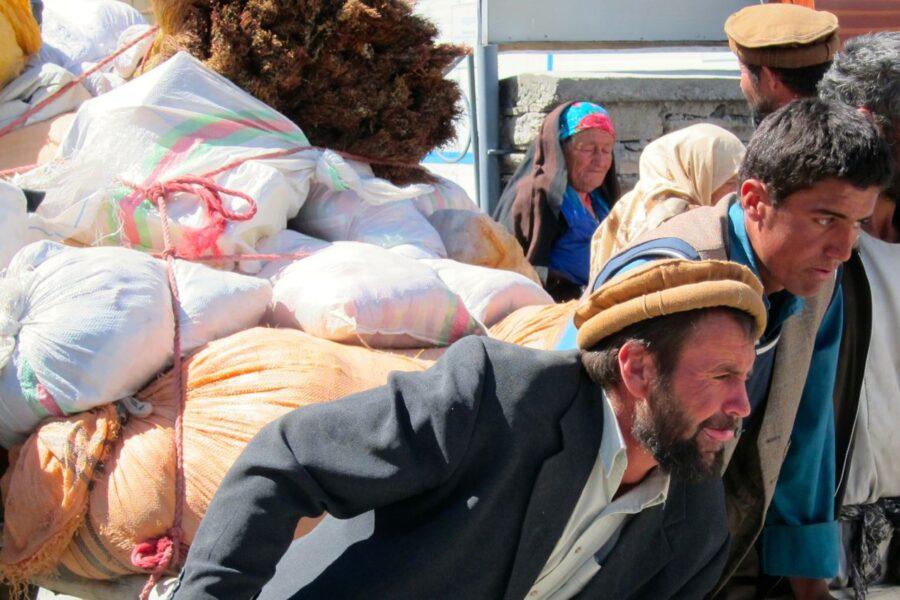 Afghan traders in Wakhan Valley