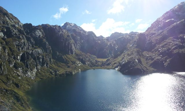 lake on routeburn track