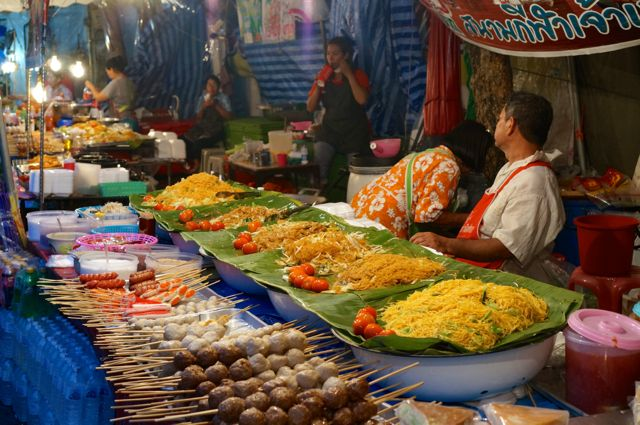 food stalls in Chiang Mai