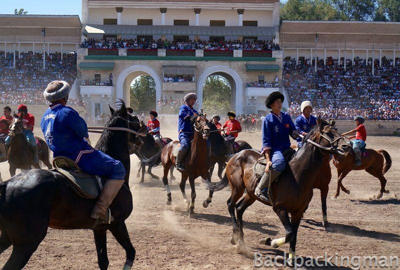 Kok Boru in Kyrgyzstan