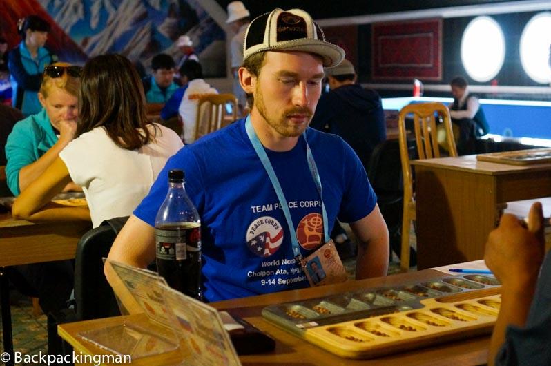 Peace Corps volunteer Sean Heyneman