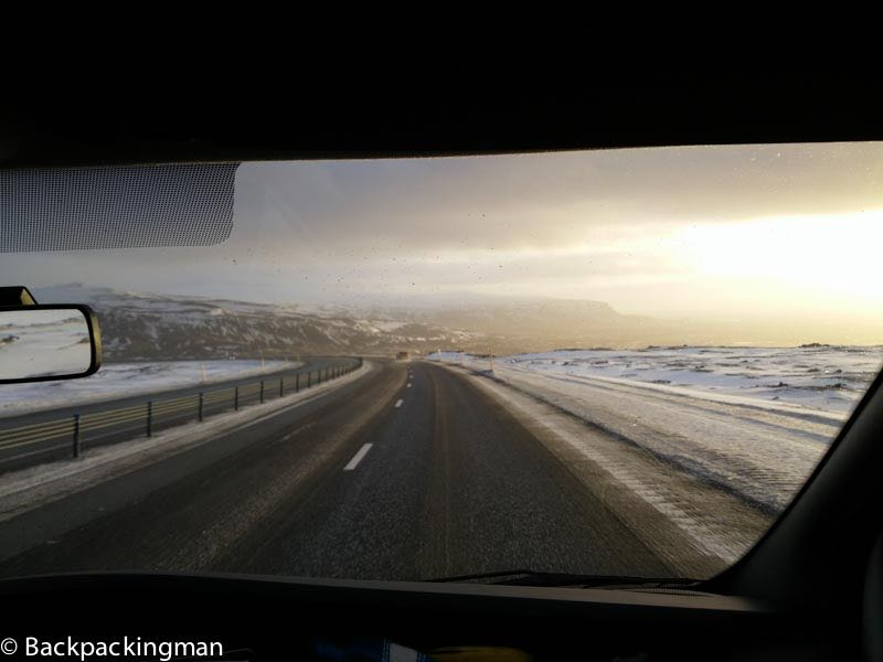 Road Trips In Iceland In Winter