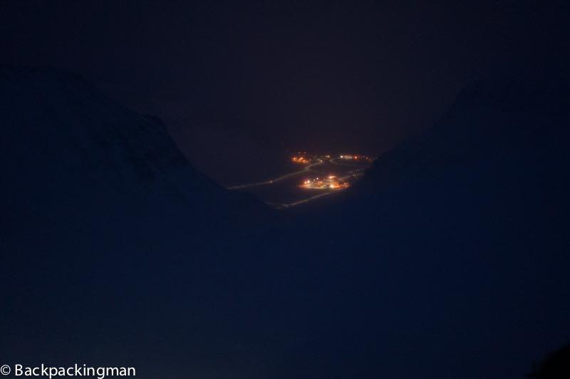Longyearbyen in winter