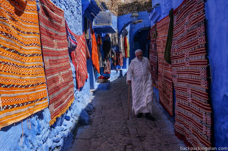 Inside the Blue Medina of Chefchaouen