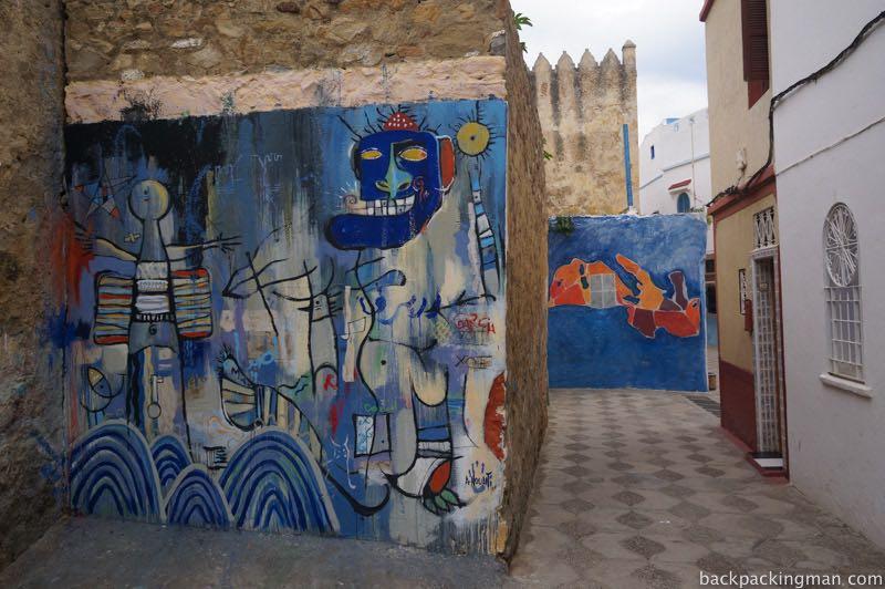 Asilah mural art