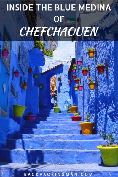 The Beautiful Blue Medina Of Chefchaouen In Morocco
