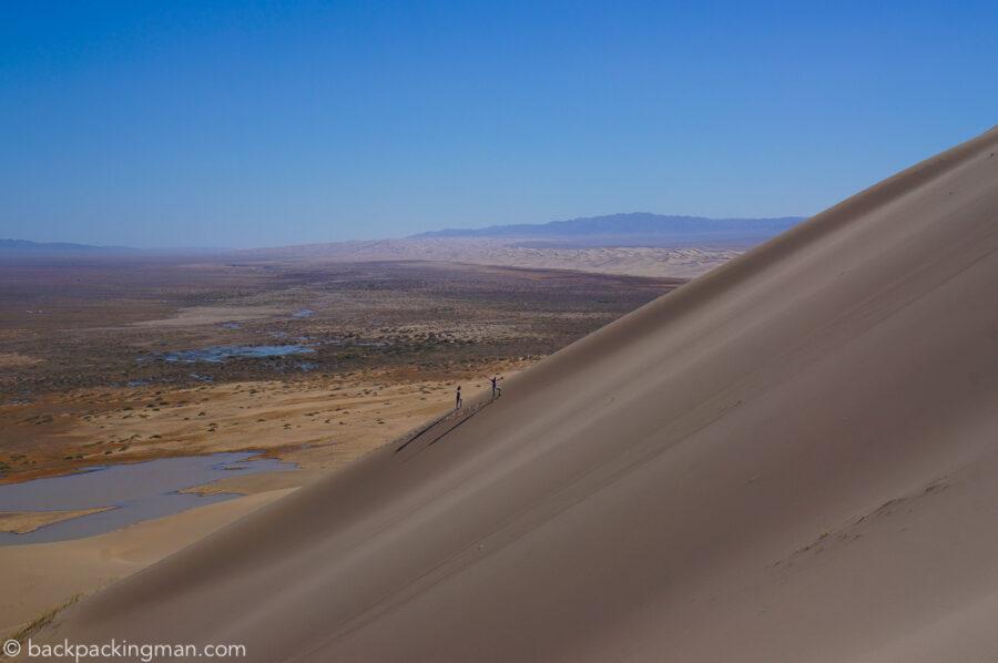 sand dune gobi desert