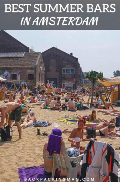 The Best Summer Bar in Amsterdam
