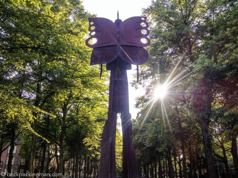 Strange Art in Amsterdam – The Artzuid Sculptures