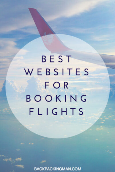 Best websites for booking flights backpackingman for Best booking site for flights