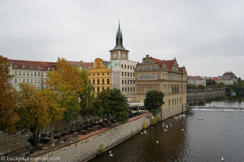 Postcards From Prague In Autumn