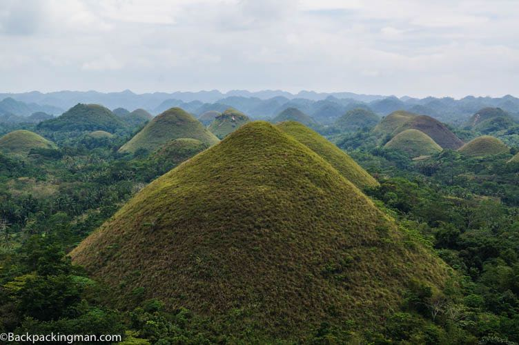 Chocolate Hills of Bohol.
