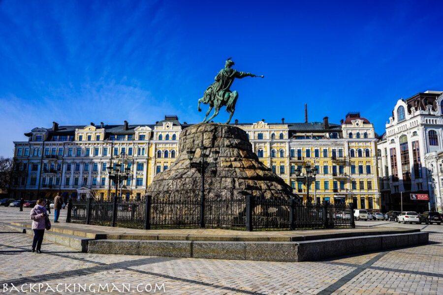 What A Sunny Winter Walk In Kiev Looks Like