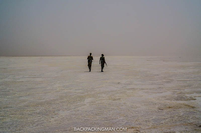 security in the danakil depression
