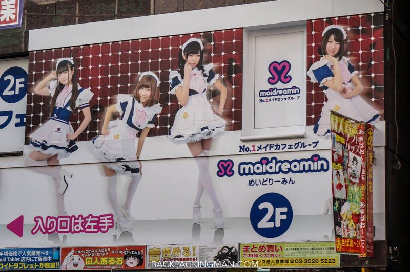 maid cafes in tokyo