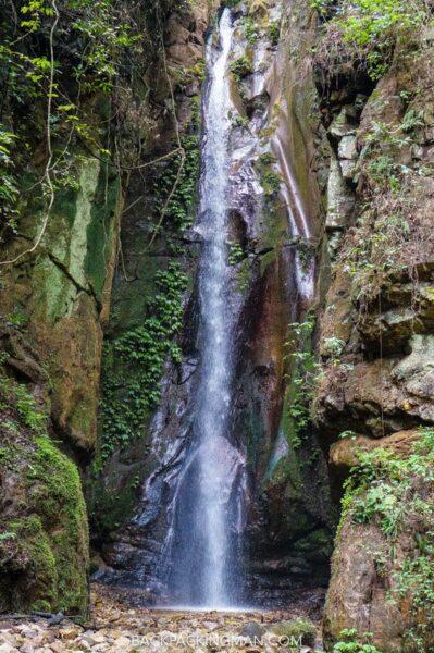 gombe stream waterfall