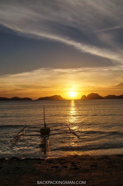 sunset-el-nido-philippines