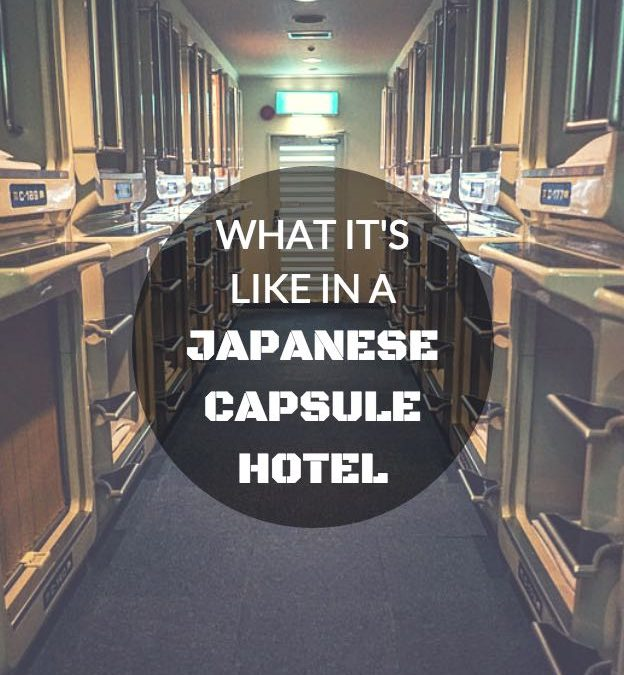 What It's Like In A Japanese Capsule Hotel – Sci Fi Attack!