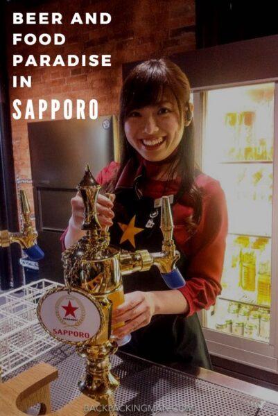 beer tasting in sapporo beer museum