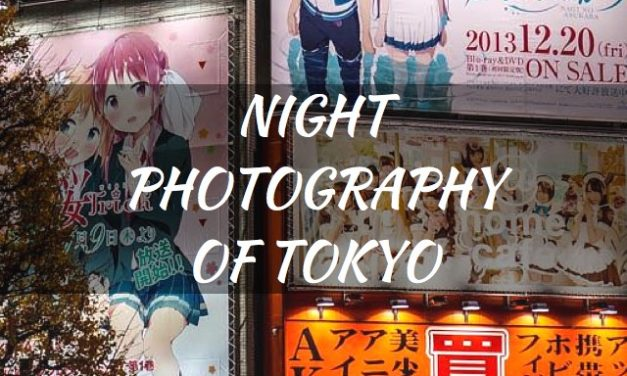 Night Photography Of Tokyo