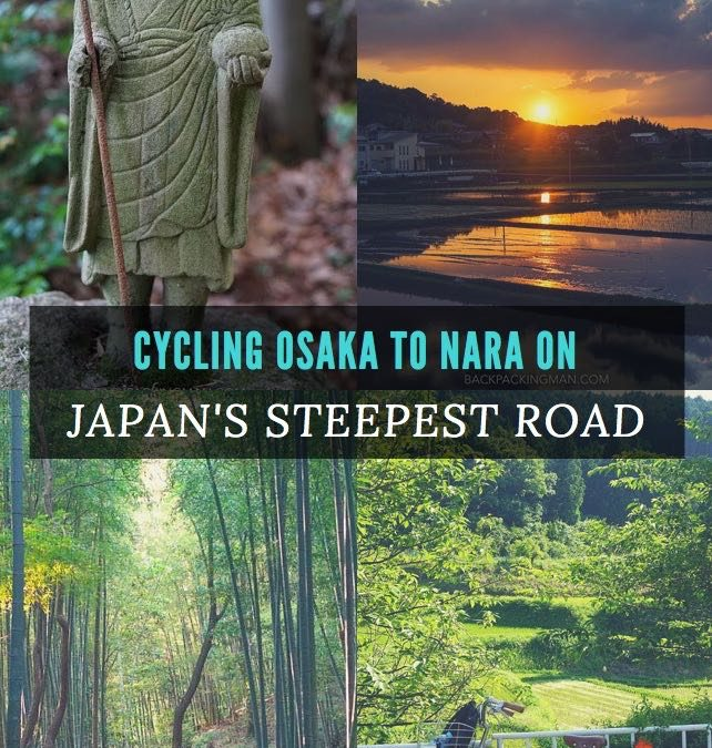 Cycling Osaka To Nara On Japan's Steepest National Road