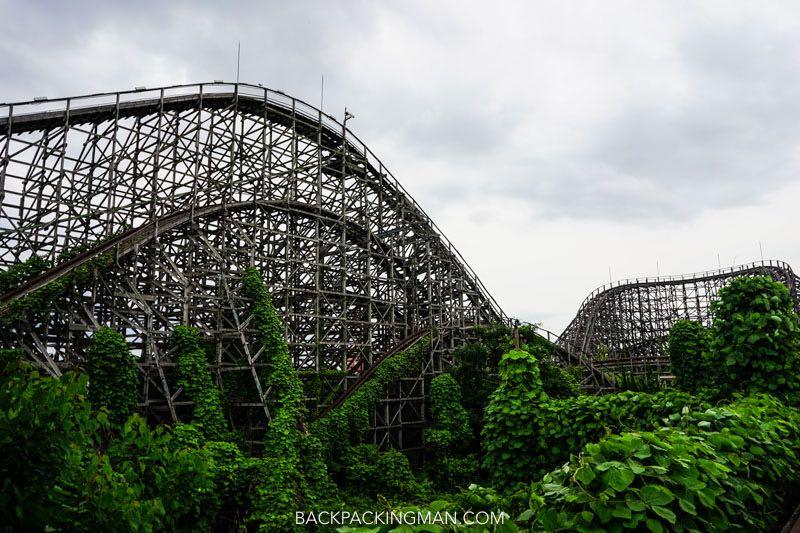 Urban Exploration at Abandoned Theme Park in Nara
