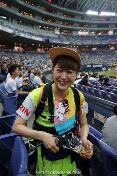 Asahi Beer girls - I am an Asian Girl |Japanese Beer Girls