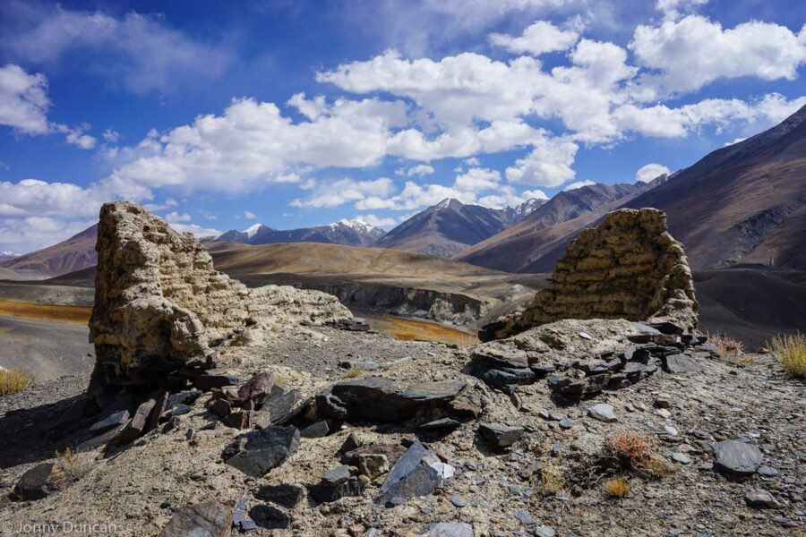 Ruins in the Pamir.
