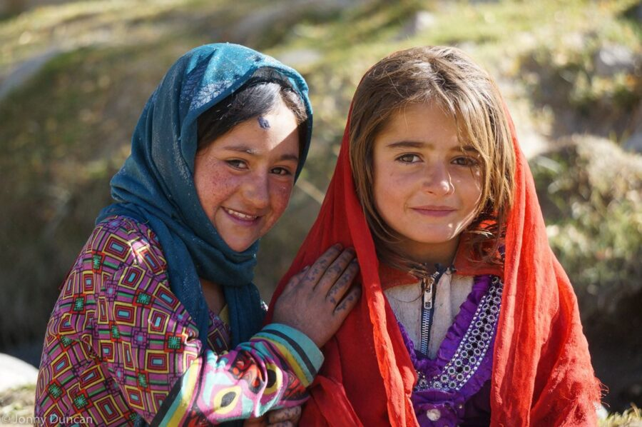Children of the Wakhan Valley.
