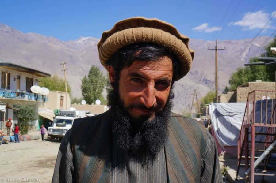 Afghan man in Ishkashim.