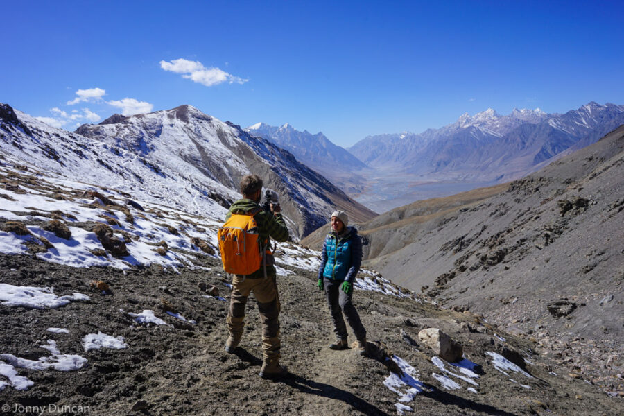 hiking in little pamir afghanistan