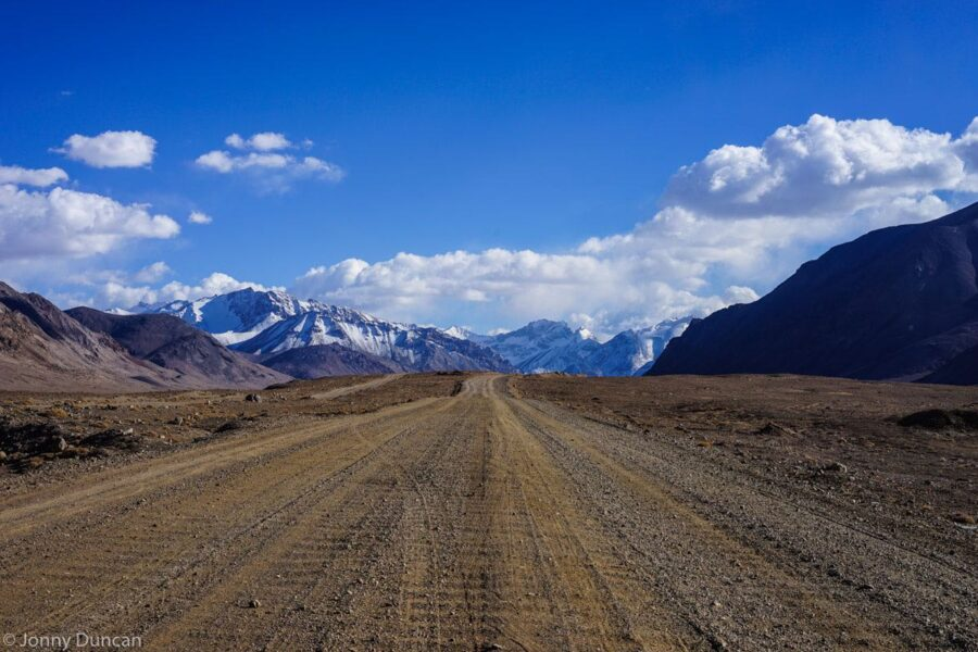 On the way to Murghab.