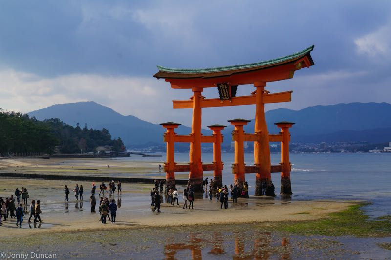 Miyajima shrine.