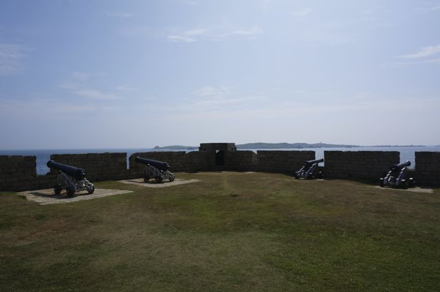 Canon at the garrison, Isles of Scilly