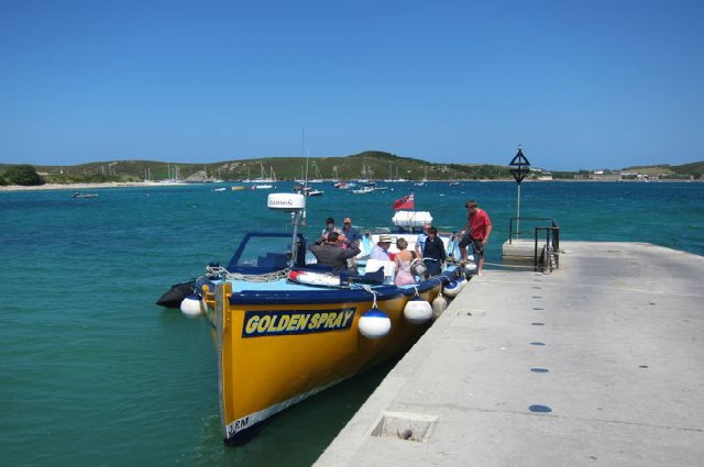 Passenger boat Isles of Scilly