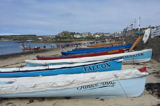 Gig Boat Racing In The Isles Of Scilly