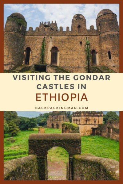 Gondar castles Ethiopia