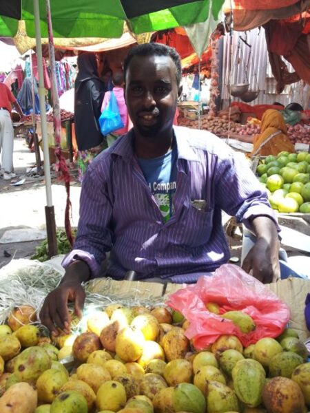 fruit seller hargeisa market somaliland