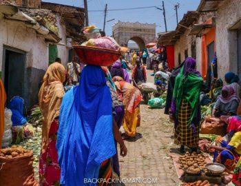 The Exotic Old City Of Harar In Ethiopia - Travel Ethiopia