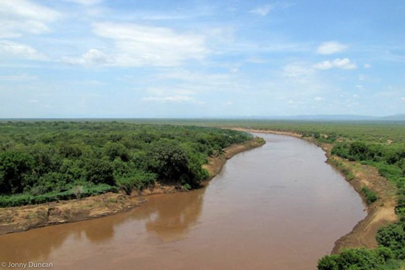 Omo Valley river