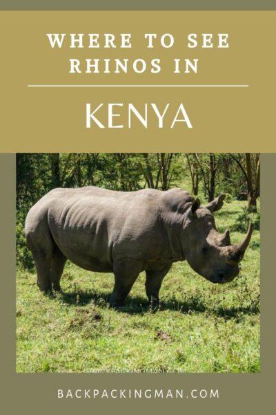 Lake Nakuru Kenya rhinos