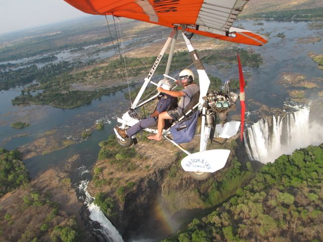 Victoria Falls Microlight Flight (Best Victoria Falls Activities)