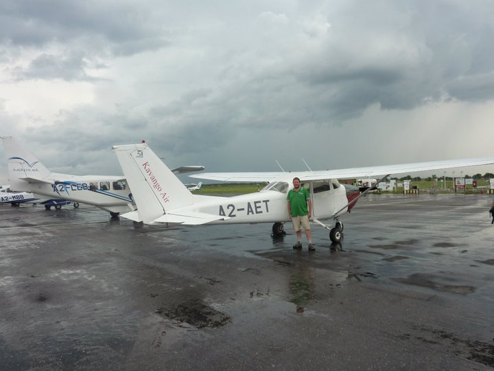 Small plane to take you over the delta.