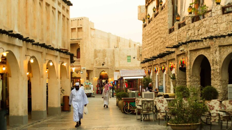 Souq / market in Doha