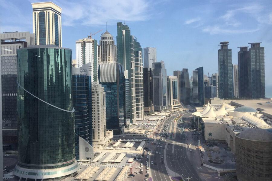 Modern Doha city