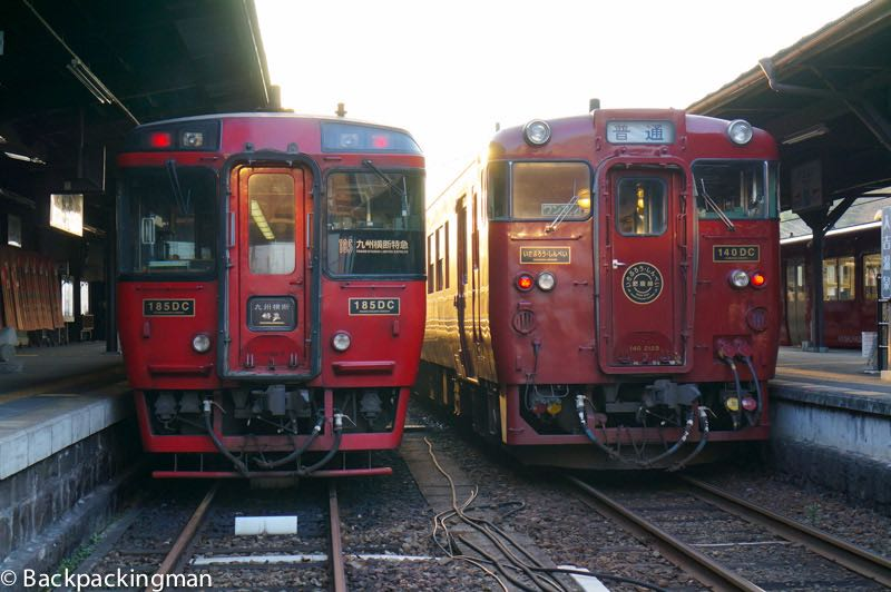 Trains in Kagoshima to Kumamoto